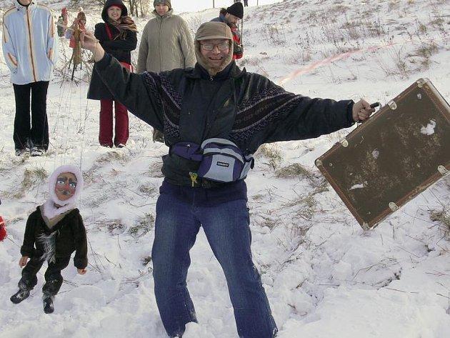 Welzlův kufr - tradičně netradiční běh na kopec Humenec.