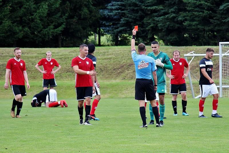 Velké Losiny doma nezvládly penalty s Kralicemi