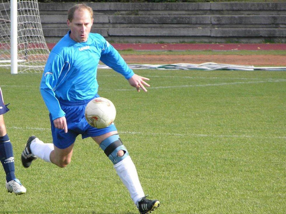 Hráč Zlatých Hor na archivním snímku.