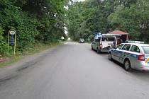 Nehoda mezi Oskavou a Libinou.