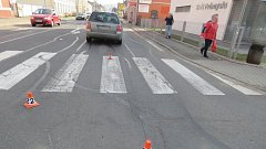 Nehoda 14. března v Šumperku