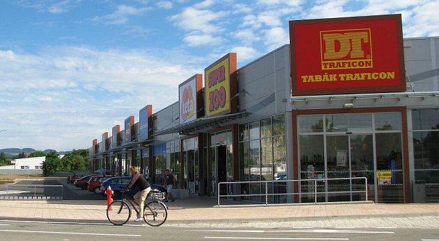 První nákupní zóna vZábřehu