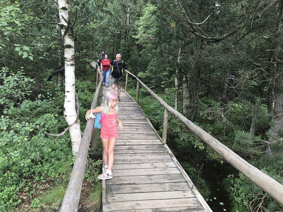 Rejvízpatří mezi nejvyhledávanější turistické cíle v Jeseníkách.