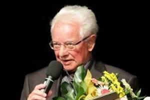 Miroslav Kubíček na Cenách města Šumperka v roce 2013.