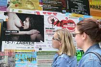 Kontroverzní plakát na festival Džemfest v Šumperku