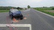 Nehoda u Javorníku 12.5.2017