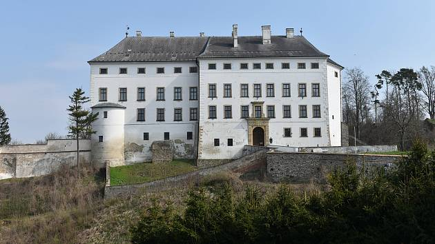 Město Úsov - zámek