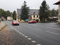Křižovatka u pošty v Dolní Lipové si vysloužila pověst nejhorší v okrese.