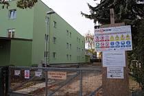 Nově budovaná přístavba domova pro seniory v Mohelnici.