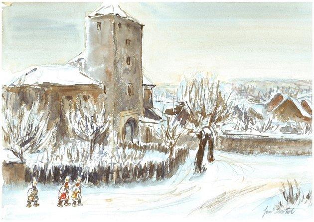 V Kavárně a galerii U Lišky Bystroušky v Lošticích budou od 17. ledna vystavovat díla zdejšího rodáka, akademického malíře Jana Smitala.