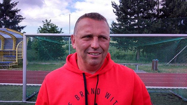 Petr Strnad, trenér týmu ze ZŠ Sluneční ze Šumperku, který vyhrál celostátní finále turnaje McDonalds Cup.