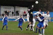 V sobotu 12. dubna vyhrály Velké Losiny (modré dresy) ve Vsetíně.