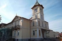 Budova Městského kulturního střediska v Javorníku.