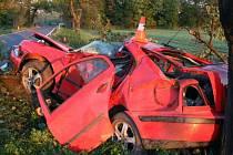 Tragická havárie u Skorošic na Jesenicku
