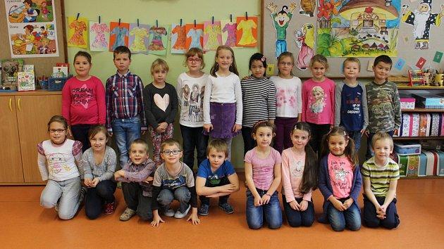 Žáci 1.A ze ZŠ Šumavská v Šumperku