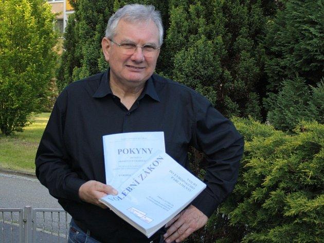 Předseda jedné ze zábřežských volebních komisí Jan Bartoš.