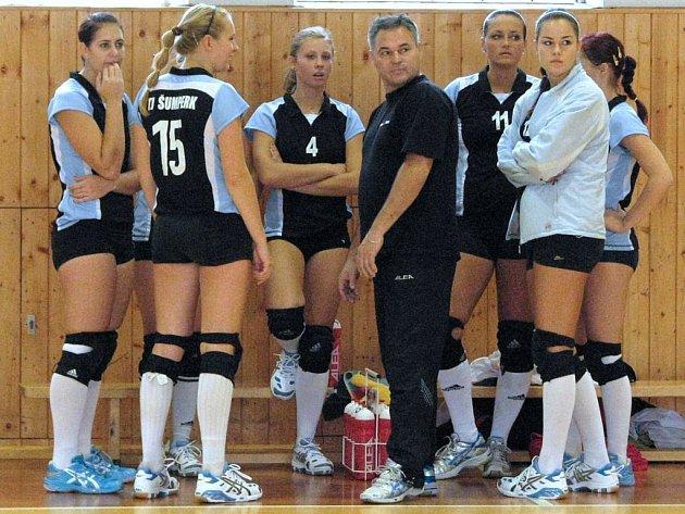Šumperské volejbalové juniorky