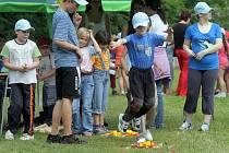 Sportovně zábavný den určený zejména lidem s mentálním handicapem v Zábřehu. Ilustrační foto