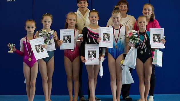 Mladým šumperským gymnastkám se v říjnu dařilo.