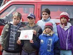 Mladí dubičtí hasiči