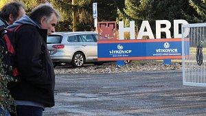 Závod Hard v Jeseníku.