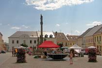 Centrální náměstí Svobody v Mohelnici prošlo velkou rekonstrukcí v roce 2012.
