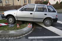 Nehoda v Zábřežské ulici v Šumperku