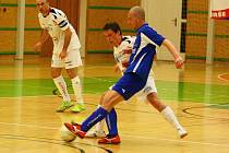 Semifinále Delta Real versus Agromeli (modré dresy)