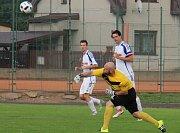 Fotbalisté Zábřehu proti Dolanům