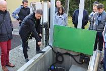 Slavnostní zahájení provozu kanalizace a čistírny v Žulové.