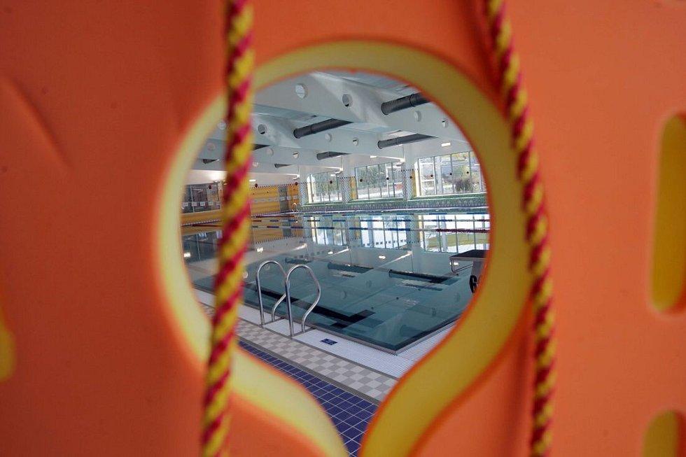 Krytý bazén v Zábřehu