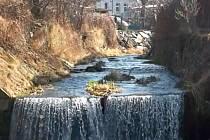 Potok v Javorníku.