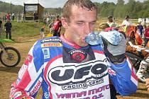 Martin Žerava bude jedním z taháků motokrosu na Rapotínské stráni.