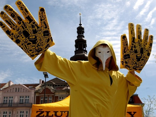 Ilustrační foto, snímek je z preventivní akce proti žloutence na ostravském Masarykově náměstí.
