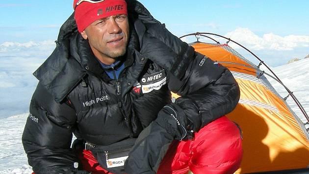 Český horolezec a dobrodruh Radek Jaroš