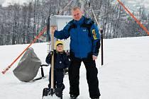 Ideální podmínky panují nyní i ve skiareálu Oáza v Loučné nad Desnou.