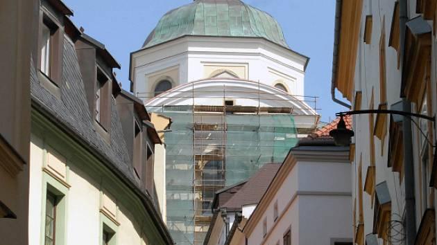 Kostel sv. Michala.