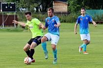Přípravné derby mezi fotbalisty Rapotína a Velkých Losin