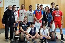 Šumperští vzpěrači zavítali na soutěž do Příboru.