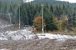 Zátěžová zkouška lanovky v Koutech nad Desnou