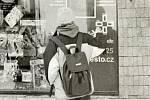 Infopanel na ulici Žižkova
