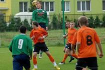 HFK B porazil Velké Losiny (oranžové dresy)