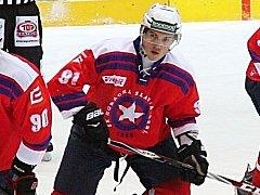 Odchovanec Šumperku Petr Jurča v utkání proti Drakům