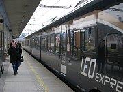 Leo Express na nádraží v Zábřehu