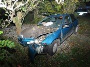 Nehoda v Bohdíkově 16.10. 2017