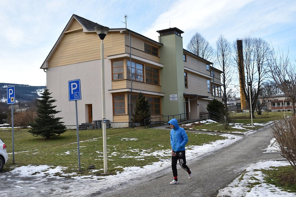 Zlaté Hory. Dům s pečovatelskou službou