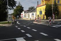V křižovatce Zábřežská v Šumperku se změnila přednost