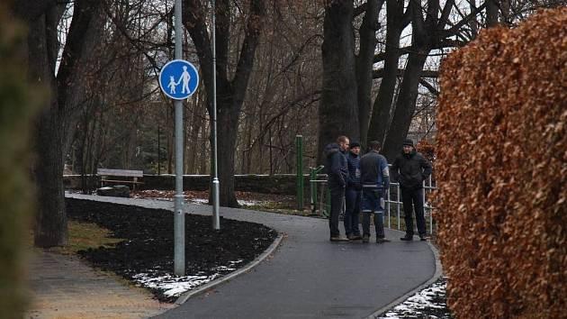 Nový úsek cyklostezky v Jeseníku.