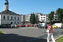 Masarykovo náměstí na archivním snímku