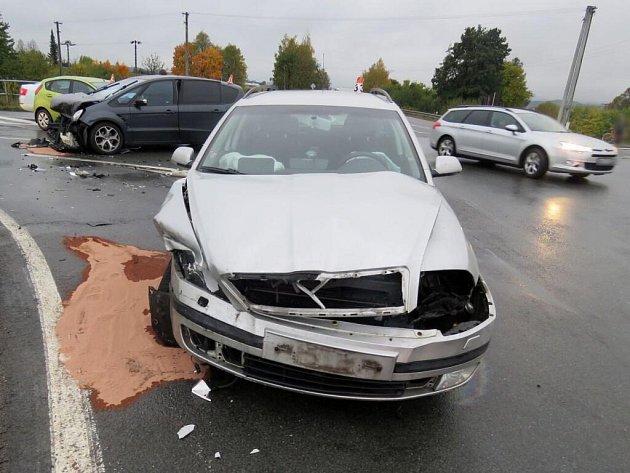 Nehoda vMohelnici